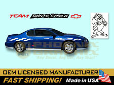 2000 2001 2002 2003 Monte Carlo SS Super Sport Decals Stripes Kit 2004 2005 2006