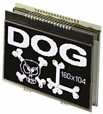 Electronic Assembly EA DOGXL160S-7 Graphic LCD Display, Green, RGB, White on Bla