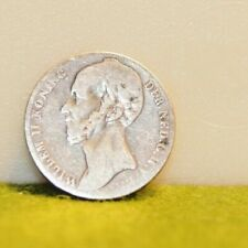 Netherlands 1845 1 Gulden Silver Coin