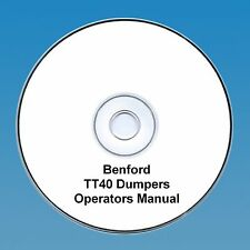 Benford TT40 Dumpers -Operators & Parts Manual