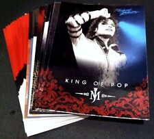 MICHAEL JACKSON 2011 Panini LOT of  20 PLATINUM Foil INSERT Cards NO Duplicates