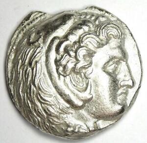 Antigonos I Alexander the Great AR Tetradrachm Coin - 320-305 BC - XF Details