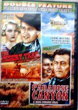 dvd double feature; John Wayne; Western; Paradise Canyon, The Desert Trail