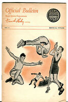 Vintage Keds Sports Official Bulletin By Frank Leahy Physical Fitness jhcc