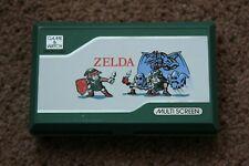RARE NINTENDO GAME & WATCH ZELDA ZL-65 1989 VERY GOOD CONDITION
