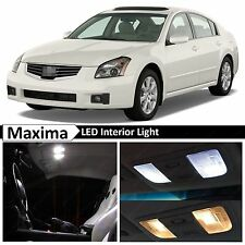 17x White LED Interior Light Package Kit for 2004-2008 Maxima + TOOL