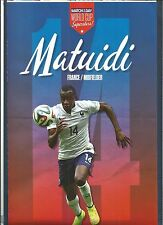 MOTD-POSTER 2013/14-FRANCE & PARIS SAINT GERMAIN-SAINT ETIENNE-BLAISE MATUIDI