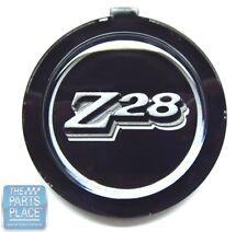 1977-79 Chevrolet Camaro Z28 4 Spoke Steering Wheel Emblem Black - GM # 459033