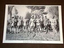Guerra in Europa Anno 1914 Stato maggiore delle Truppe di India Francia