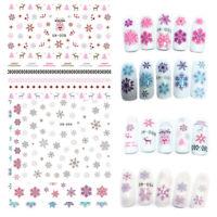nail - art - tipps transfer - aufkleber weihnachten nagel aufkleber