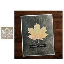 Maple Leaf Metal Cutting Dies DIY Scrapbooking Album Paper Stamping Die Decor
