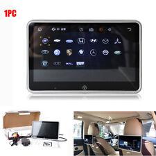 "10.1"" Touch Screen Car Headrest Multimedia Player Monitor Mirror Link + Bracket"