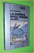 COSMO ARGENTO  N. 66 LA GUERRA DEGLI UOMINI ALATI PAUL ANDERSON  ED.NORD 1977