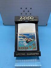 Vintage Zippo Lighter Wind Surfing Aruba 2004