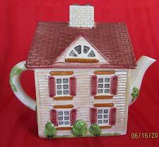 Johnson Brothers THE FRIENDLY VILLAGE Tea Pot: The Village Street Series 1