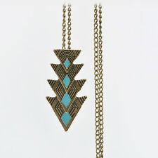 Statement Bib Necklace Fashion Jewelry Charm Pendant Chain Crystal Choker Chunky