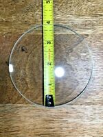 "3 3/4"" Convex Clock Dial Glass (Lot K1094)"