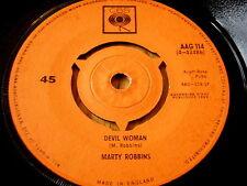 "MARTY ROBBINS - DEVIL WOMAN    7"" VINYL"