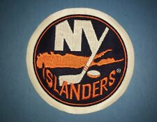 Rare New York Islanders Hockey Iron On Jacket Hat Patch Crest A