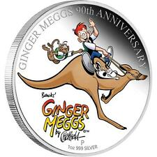 2011 Aust Ginger Meggs Celebrating 90 years!  1oz Silver Proof Coin Perth Mint
