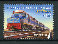 Australia Trains Stamps 2020 MNH Transcontinental Railway Railways Rail 1v Set