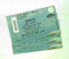 RARE Lenny Kravitz Memorabilia - Tickets Stub(s) Wembley Arena London 30/06/08
