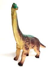 """Brachiosaurus Greenbrier Intl Rubber 12"""" Dinosaur Dino Figure Multi-Color"""