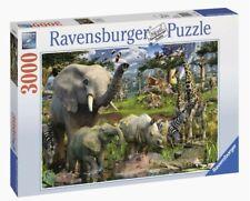 Ravensburger 17070 - Puzzle Animali AN der Punto D'acqua
