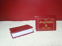 Geeta Gita Press 2x Miniature Pocket Shrimad Bhagavad Hindu Two Holy Book FreeSh