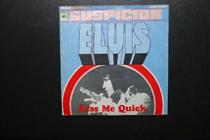 ELVIS PRESLEY  Suspicion  Vinyl   Single v. 1977