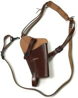 WWII US .45 PISTOL M7 SHOULDER HOLSTER-DARK BROWN