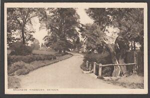 Postcard Swindon Wiltshire view of Brookside at Kingsdown