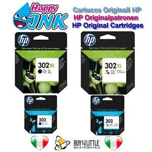Cartucce Originali HP 302 302XL Nero Colore Officejet 3830 3835 4650 F6U66A