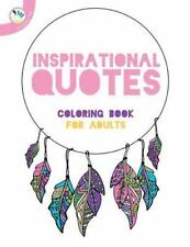 Inspirational Quotes Coloring Book for Adults: By Individuality Books, Indivi...