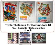 Nobby The Aardvark + Winter Camp + Summer Camp + Snare Commodore 64 C64 Thalamus