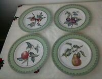 Set of 4 Winterthur Adaptation Andrea by Sadek Dessert/Salad/Decorative Plates