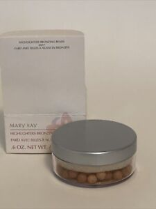 Mary Kay .6 Oz Highlighters Bronzing Beads 6617 New DISCONTINUED
