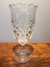 c. 1893 No. 200 SHEAF AND BLOCK by Co-operative Flint CRYSTAL Celery Vase