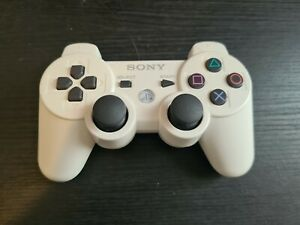 Official Sony Dualshock 3 P33 White Controller. VGC. Free P+P. FAST DISPATCH.