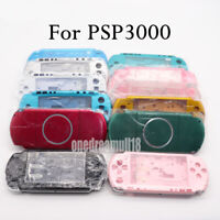 New For PSP3000 PSP 3000 Shell Case Replacement Full Housing Cover With Buttons