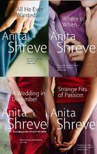 ANITA SHREVE ___ 4 BOOK SET ___ BRAND NEW ___ FREEPOST UK