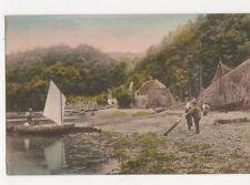 Dittisham River Dart Vintage Postcard 307a