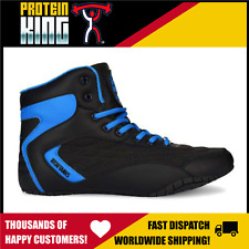 IRON TANKS ORION GENESIS US-13 GYM SHOES BLUE WEIGHT LIFTING BODYBUILDING MMA