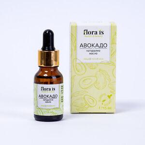 FLORA IS Avocat Huile 15ML Hydratant Et Nourrit Sec & Peau Mature Avec Vitamines