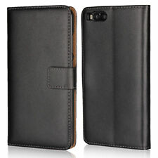 For Xiaomi Mi Note 3 Genuine PU Leather Flip Wallet Card Pouch Case Stand Cover
