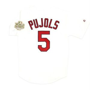Albert Pujols St. Louis Cardinals 2011 World Series Home Men's White Jersey