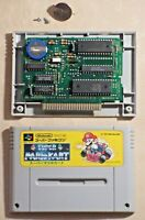 Super Mario kart 1992 SNES SFC Nintendo Famicom game cartridge tested Japan JP