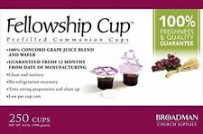 Fellowship Cup (prefilled Communion Cup) X 250 081407011578