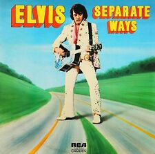 Elvis Presley - Separate Ways 60's Vinyl LP Sticker, Magnet