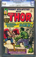 Thor Journey Into Mystery #112 CGC 9.0 Loki Origin - Thor vs Hulk Classic Battle